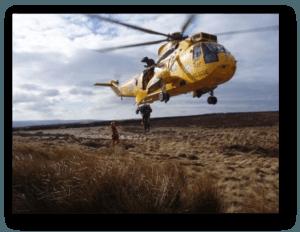 Kilimanjaro helicopter rescue