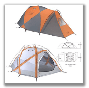 Kilimanjaro sleeping tents