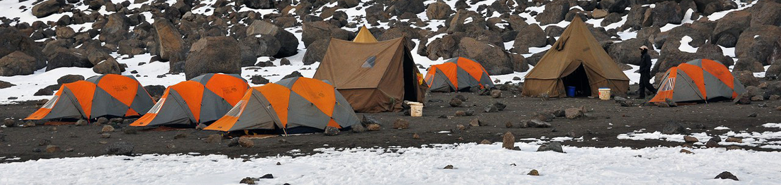 Kilimanjaro Mountain hardware tents