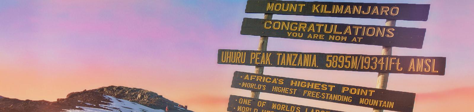 kilimanjaro climbing summit
