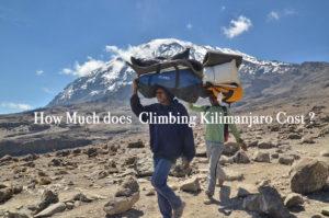 climbing Kilimanjaro cost
