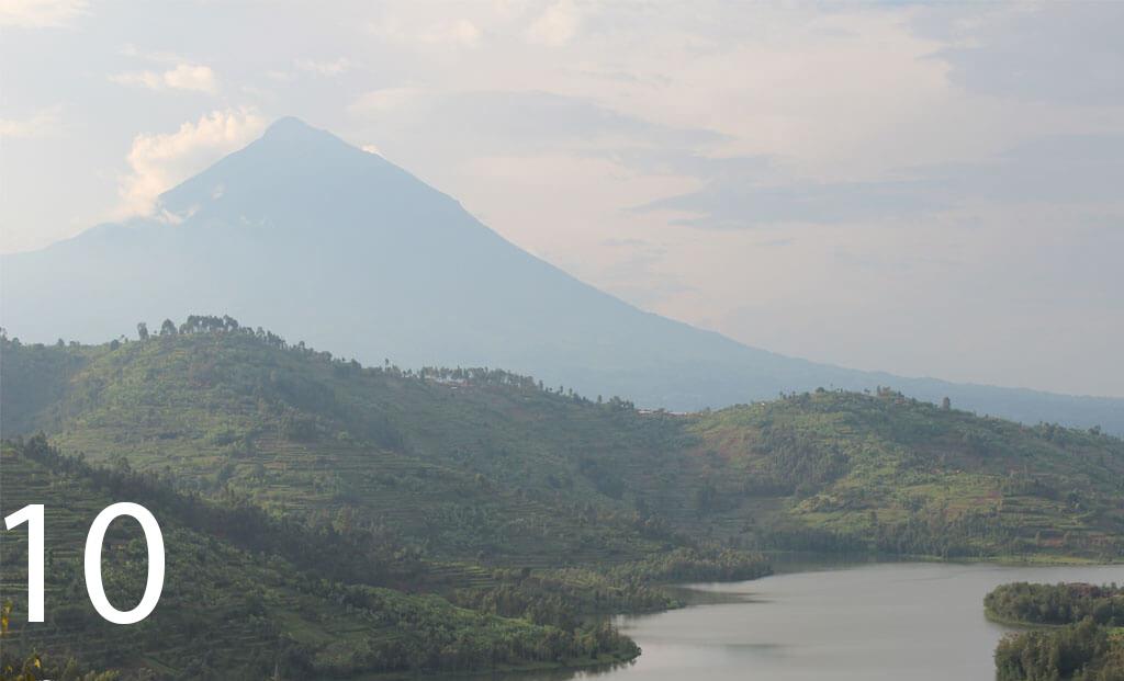Mount Karisimbi -Number 10 highest mountain in africa