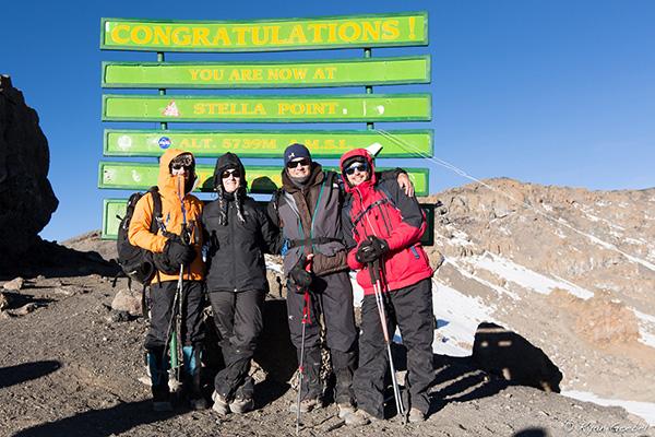 Stella point Kilimanjaro 1