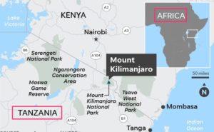 where is mt kilimanjaro