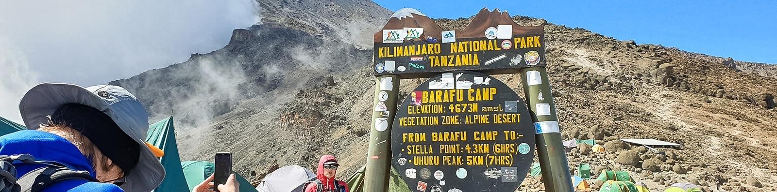 Kilimanjaro climb in July